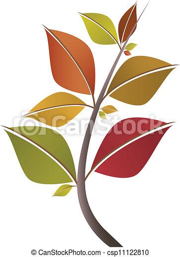 가을의 잎, 가지 - csp11122810