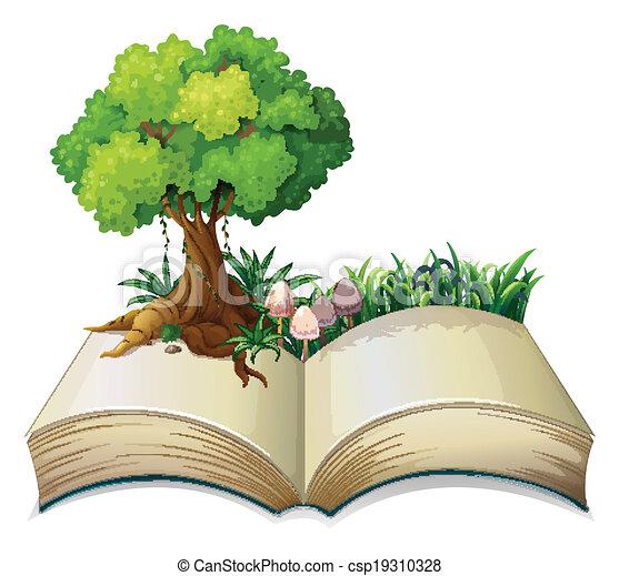 나무, 책, 열려라 - csp19310328