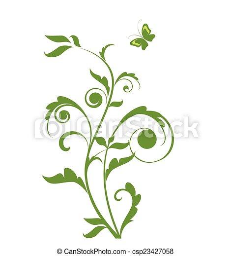 녹색 나무 - csp23427058