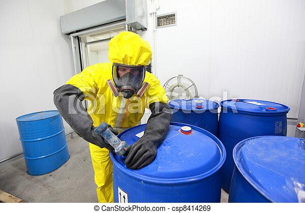 다룸, 전문가, 화학 제품 - csp8414269