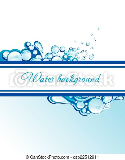물, 떼어내다, 파도 - csp22512911