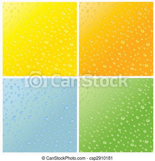 물, 배경 - csp2910181