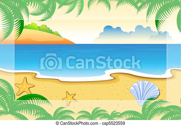 바다 전망 - csp5523559