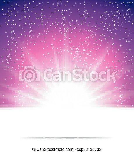 배경, 떼어내다, 마술, 빛 - csp33138732