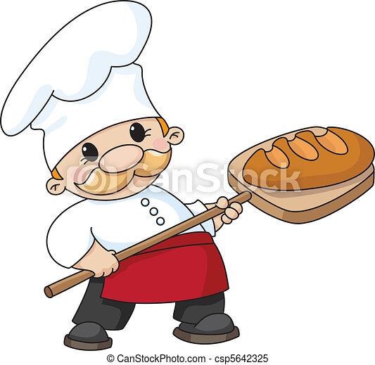 빵 굽는 사람, bread - csp5642325