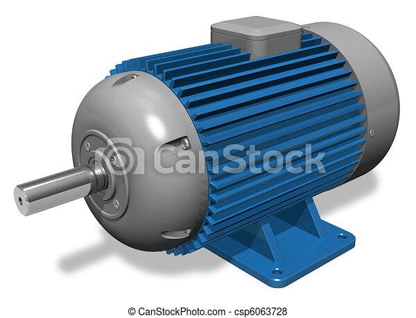산업의, 전동기 - csp6063728