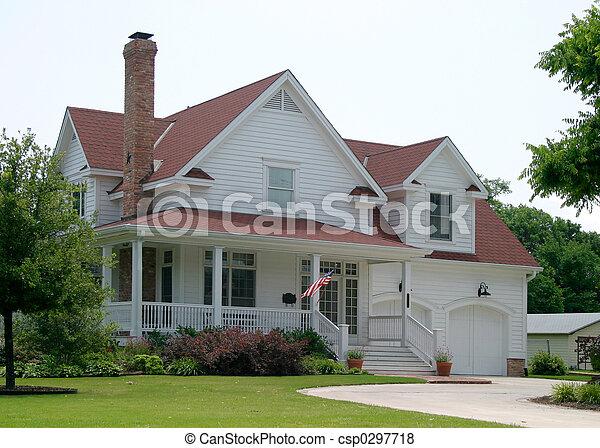새로운, 늙은, 집 - csp0297718