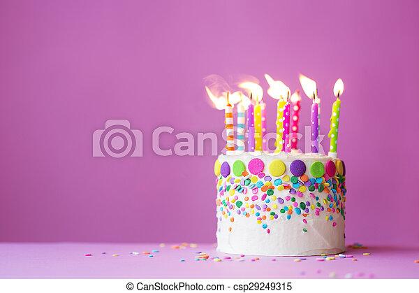 생일 케이크 - csp29249315