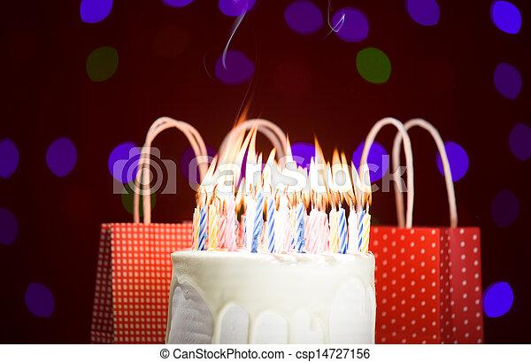 생일 케이크 - csp14727156