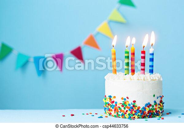 생일 케이크 - csp44633756