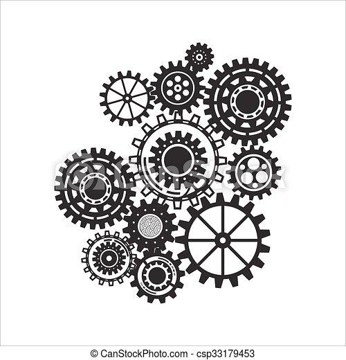 아이콘, 접속된다, 전략, 디지털, concepts., 사업, 떼어내다, seo, analytics, 배경, concept., 연구, 은 설치한다, 우주기계론, 서비스, 마케팅, 나누다 - csp33179453