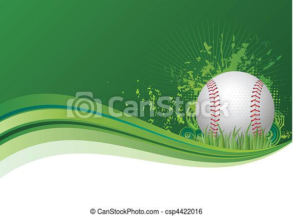 야구, 배경 - csp4422016
