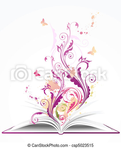 열린 책, 배경 - csp5023515