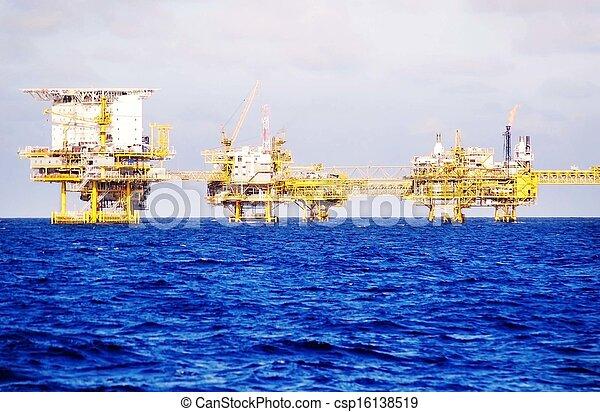 의장, 기름, 난바다에 - csp16138519