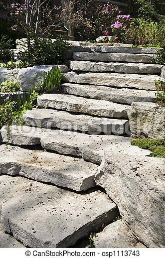정원사 노릇을 함, 돌, 제자리표 - csp1113743