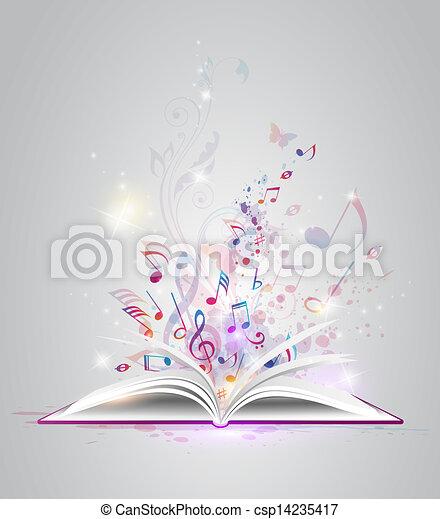 주, 책, 열려라 - csp14235417