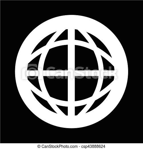지구 지구, 아이콘 - csp43888624