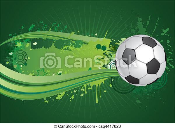 축구, 배경 - csp4417820