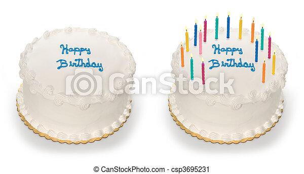 케이크, 생일 - csp3695231