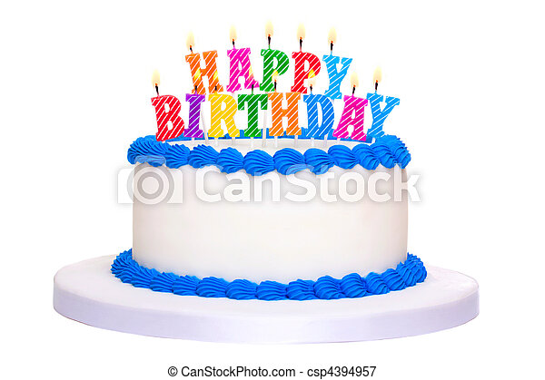 케이크, 생일 - csp4394957