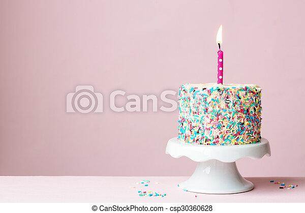 케이크, 생일 - csp30360628