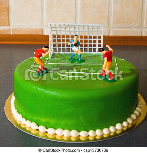 케이크, 생일, 아이 - csp13730709