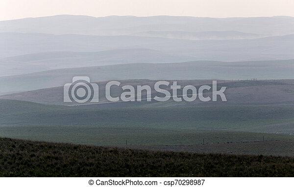 파노라마, 대초원, 보이는 상태 - csp70298987