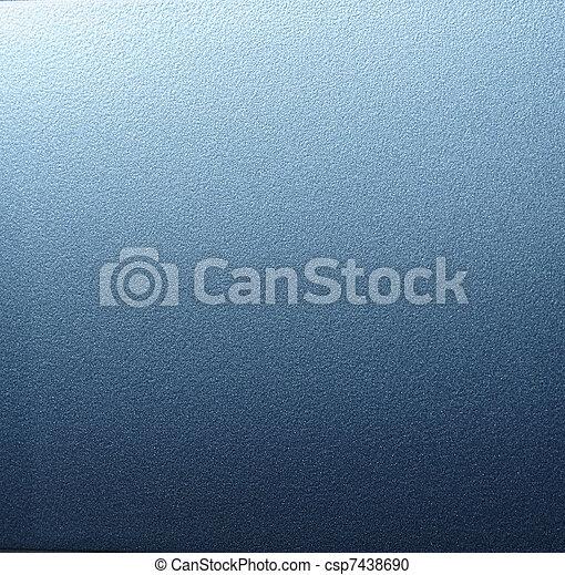 파랑, metal. - csp7438690