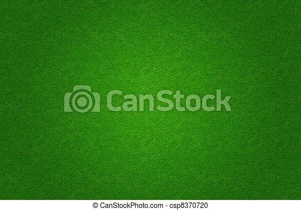 풀, 골프, 들판, 녹색의 배경, 축구, 또는 - csp8370720