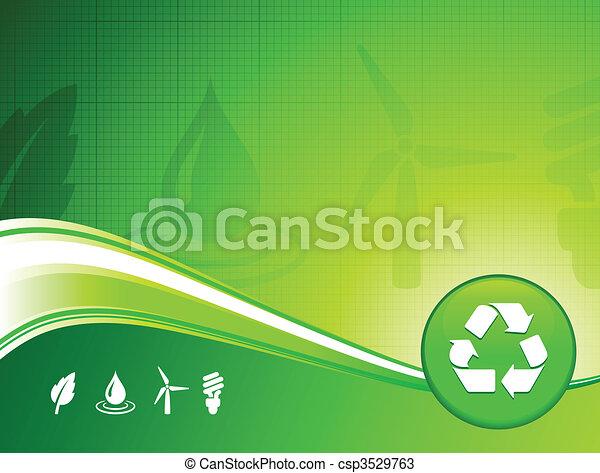 환경, 배경, 녹색 - csp3529763