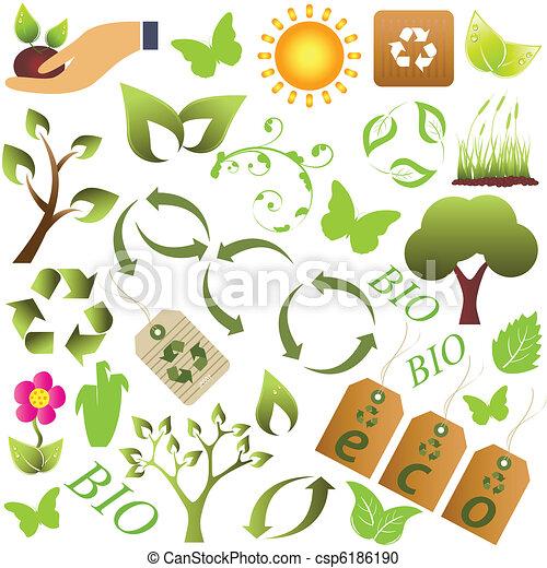 eco, 상징, 환경 - csp6186190