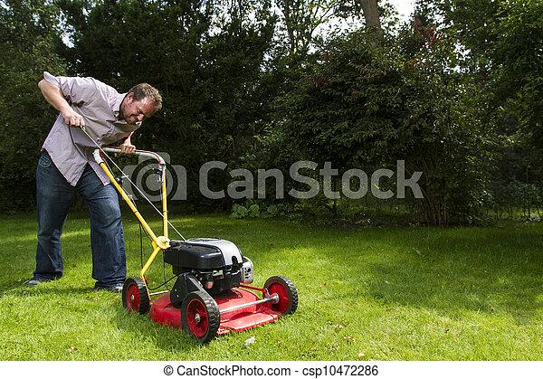 lawnmower - csp10472286